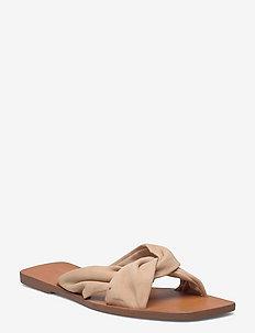 CROSS - flade sandaler - sand