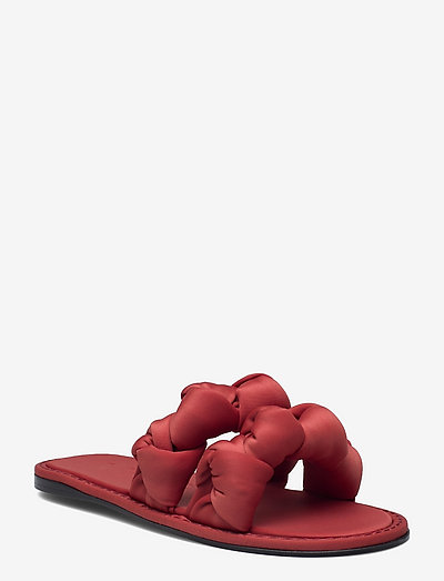 ORI - flade sandaler - red