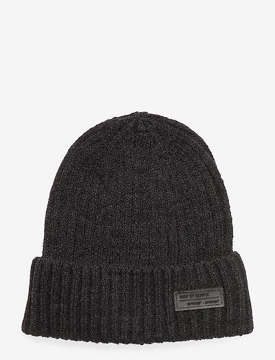 KNIT - hatte og handsker - darg grey vigore