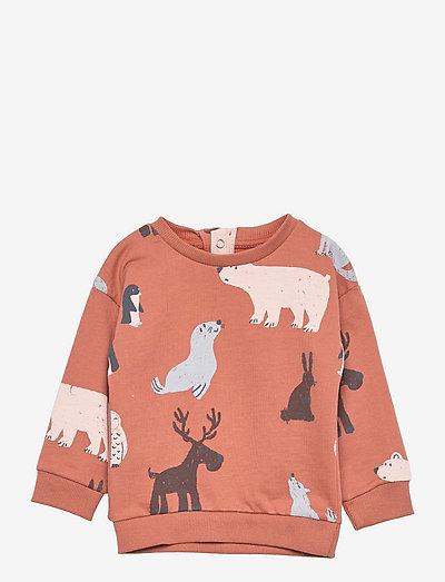 BOREAL - sweatshirts - terracotta