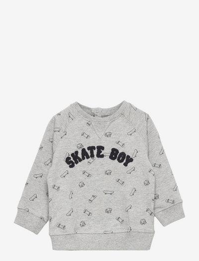 ROLLERS - sweatshirts - mid grey vigore
