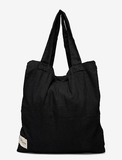 AGAIN - tote bags - black