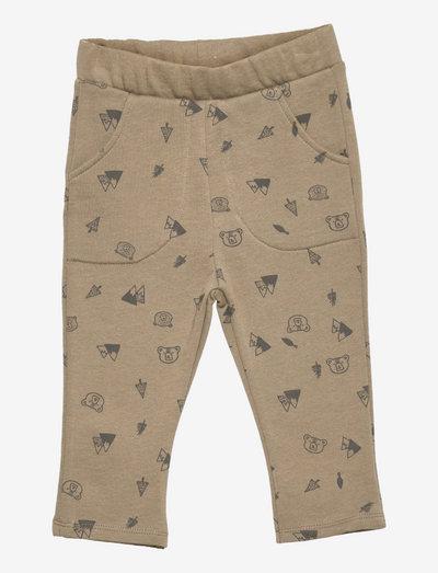 HELMUT1 - bukser - khaki