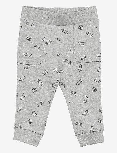 ROLLERP - sweatpants - mid grey vigore