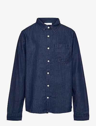 DANIEL - skjorter - dark denim