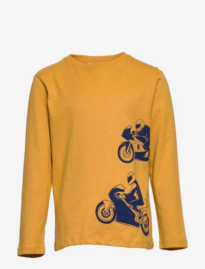 RACING - t-skjorter - mustard