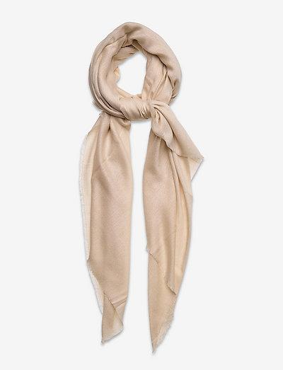 PEACHY - tynde tørklæder - ecru