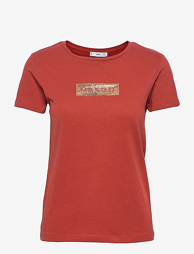 MANGOLOG-H - t-shirts - red
