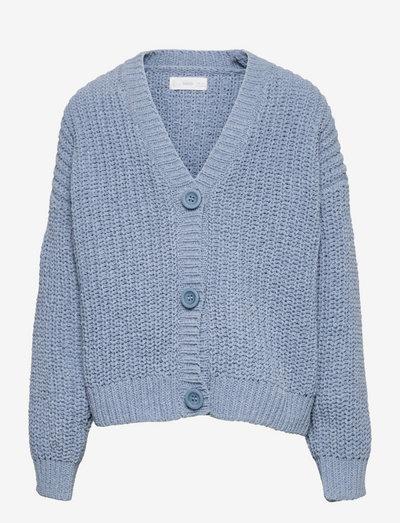 SOUFFLE - cardigans - blue
