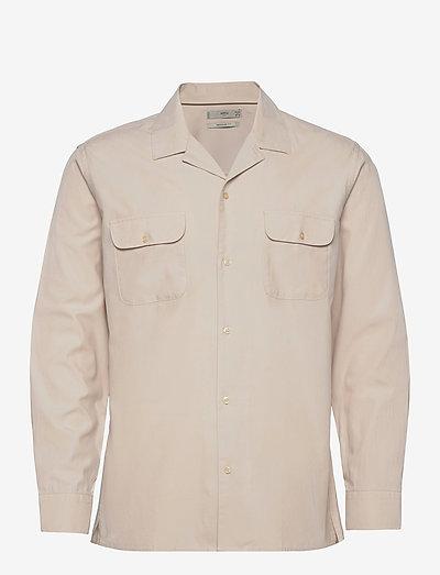 TALCO - rutiga skjortor - beige