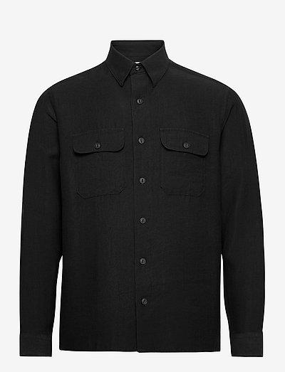 ALICE - rutiga skjortor - black