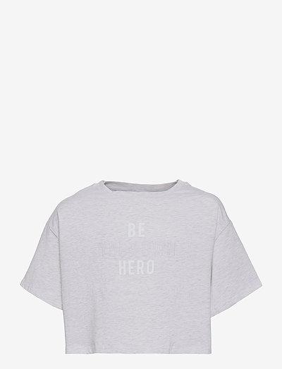 HERO - langærmede - clrear grey vigore