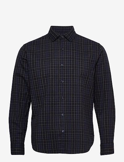 CABA - rutiga skjortor - medium blue