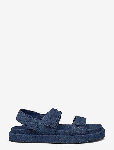 CAT1 - flade sandaler - open blue