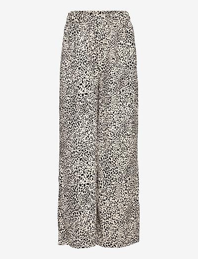 LEOPART - bukser - ecru
