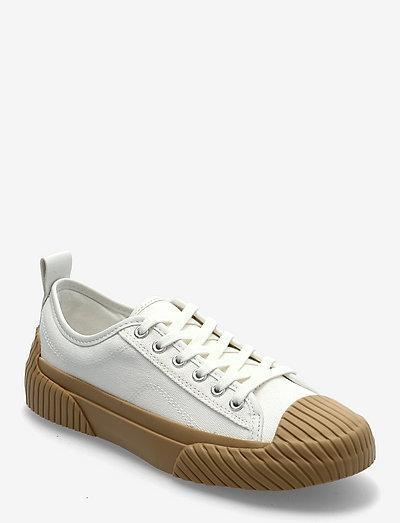 HANK - låga sneakers - white