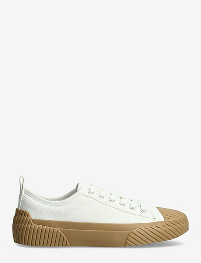 HANK - lave sneakers - white