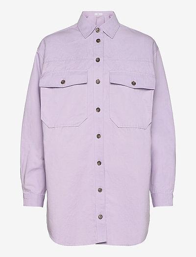 TANA - langærmede skjorter - lila