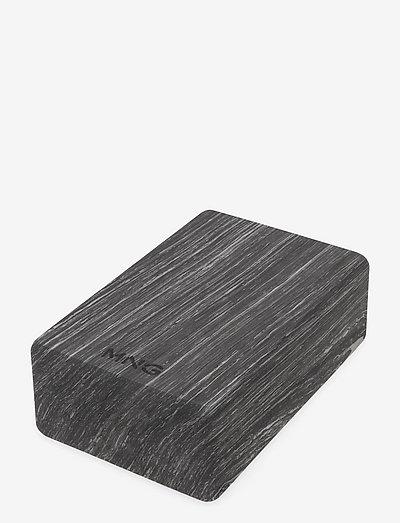 YOGUI - yogablokke & seler - black