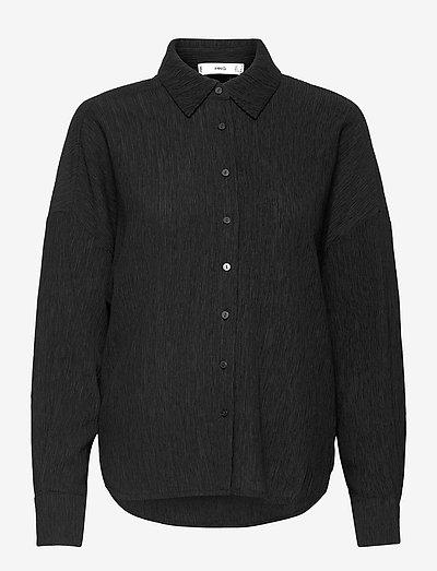 FELIPE - langærmede skjorter - black