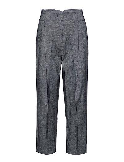 Flecked suit trousers - DARK GREY