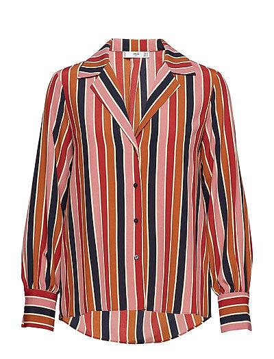 Multicolor striped shirt - NAVY