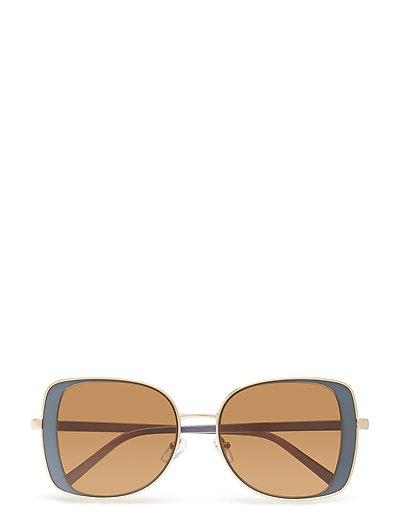 Metal sunglasses - MEDIUM BLUE