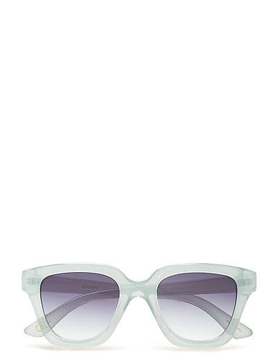 Acetate frame sunglasses - MEDIUM BLUE
