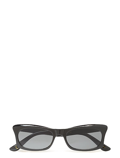 Acetate frame sunglasses - BLACK