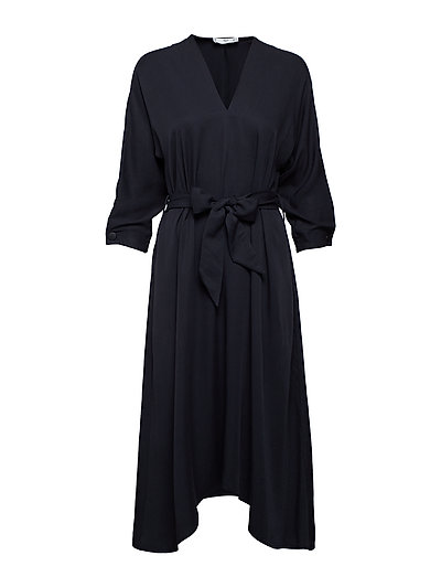 Bow gown - CHARCOAL