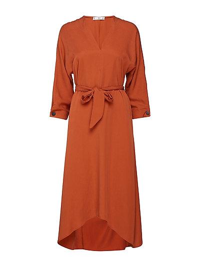 Bow gown - ORANGE