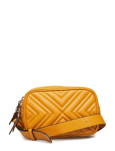 Quilted belt bag - MEDIUM YELLOW