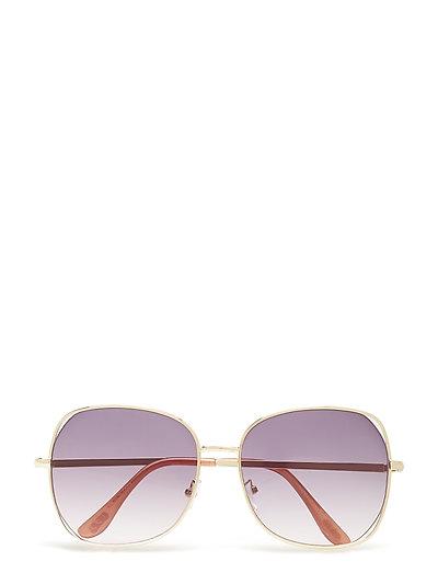 Retro style sunglasses - GOLD