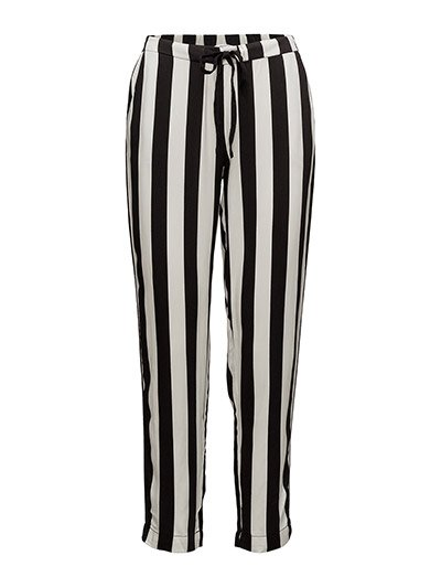 Drawstring flowy trousers - NATURAL WHITE