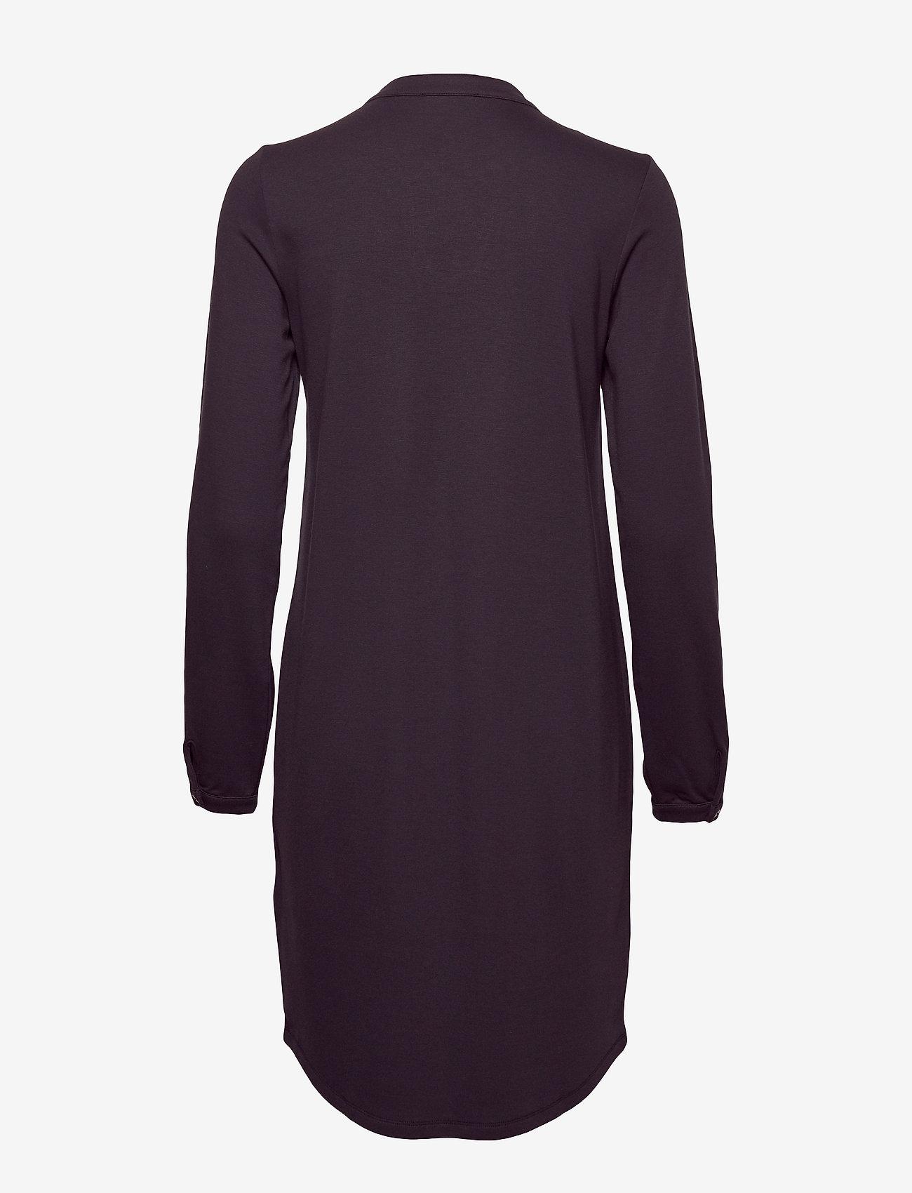 Jersey Dress, Long Sleeve, Placket (Midnight Sea) (1201.85 kr) - Marc O'Polo