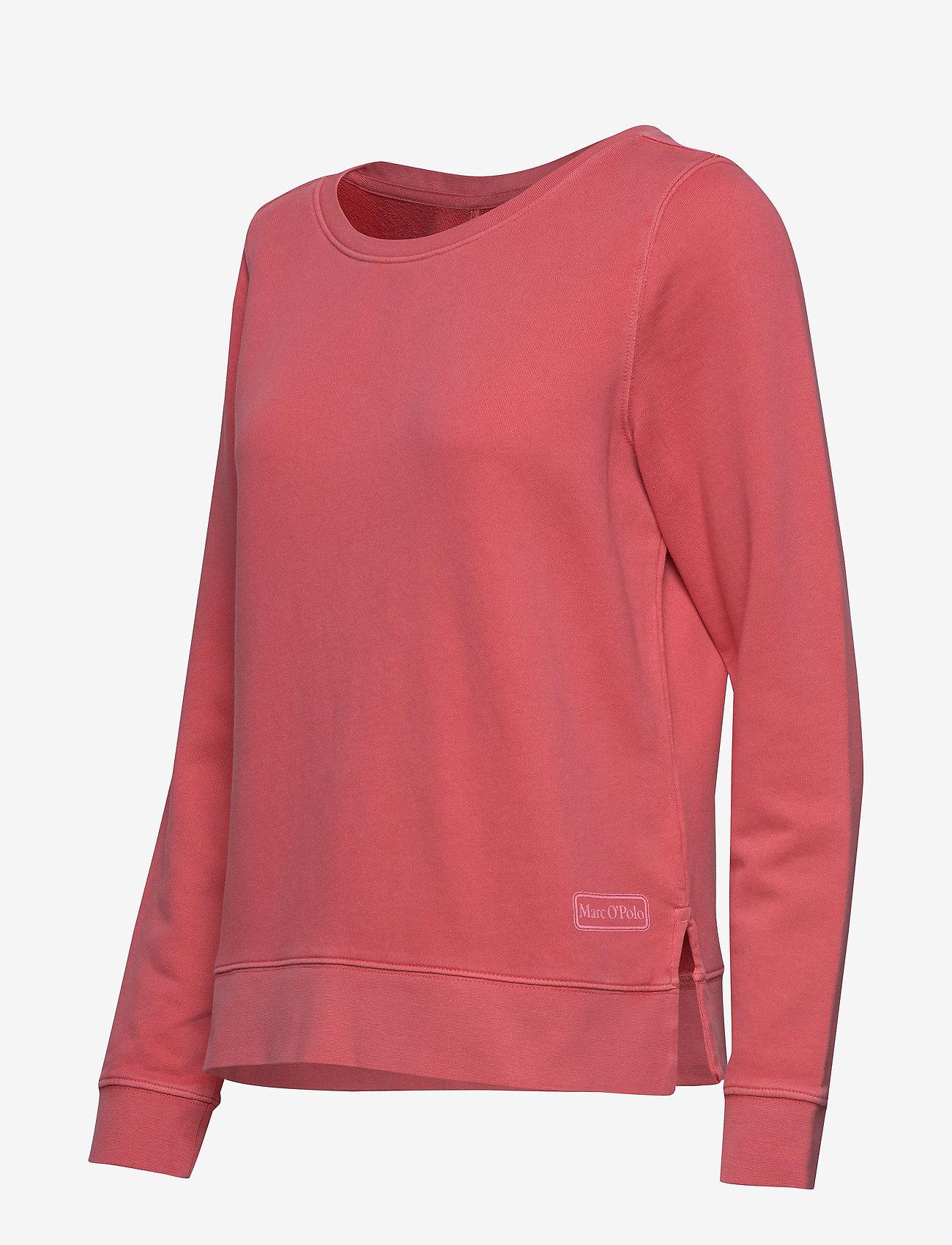 Sweat-shirt, Gmt Dye, Mop Print At (Bright Berry) (714.35 kr) - Marc O'Polo
