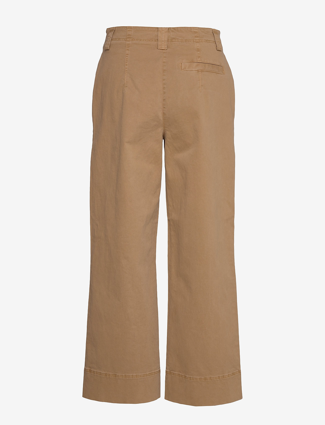 Pants, Wide Leg, High Rise, Cropped (Mild Tobacco) (1071.85 kr) - Marc O'Polo