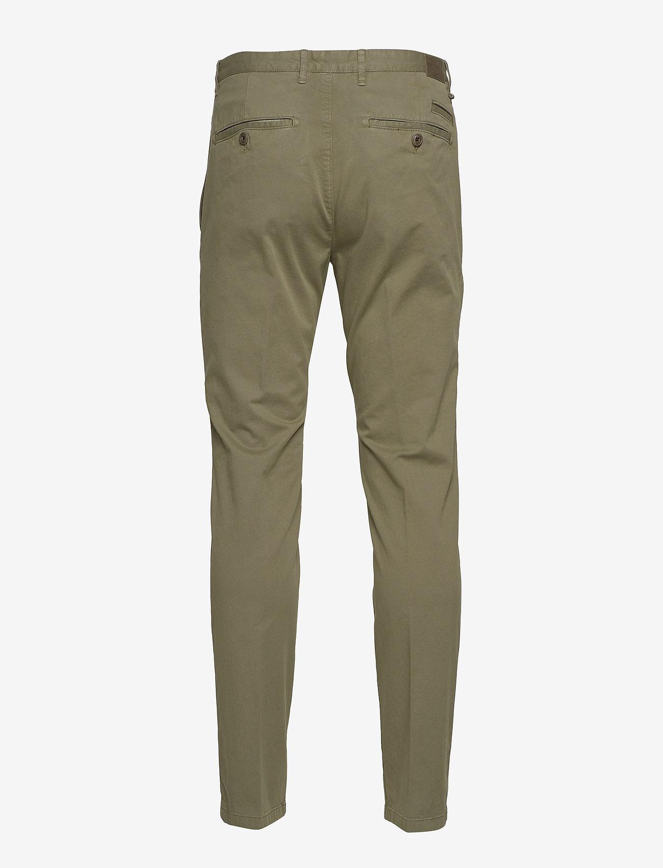Marc O'Polo - Pants - pantalons chino - deep lichen green - 1