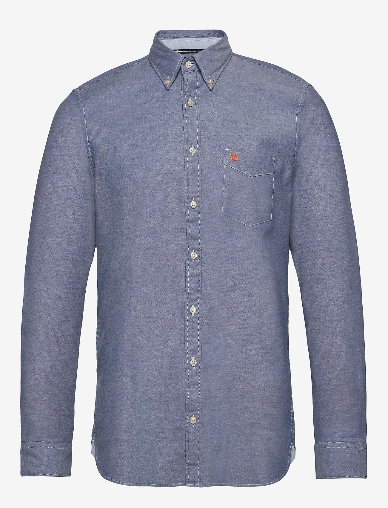 Marc O'Polo - Button down, long sleeve, stitching - chemises basiques - multi/mazarine blue - 0