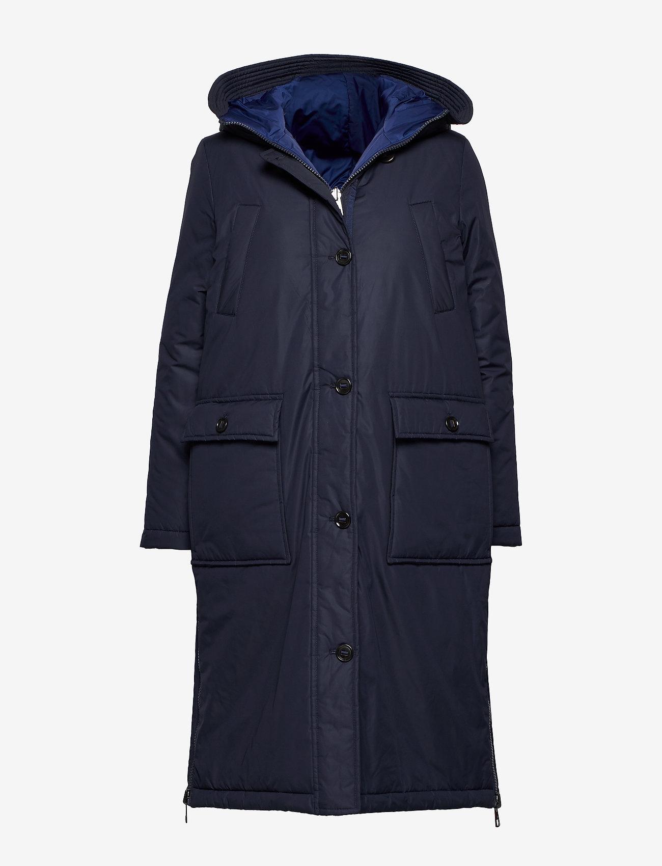 Marc O'Polo - Big puffer coat - dynefrakke - midnight blue - 0