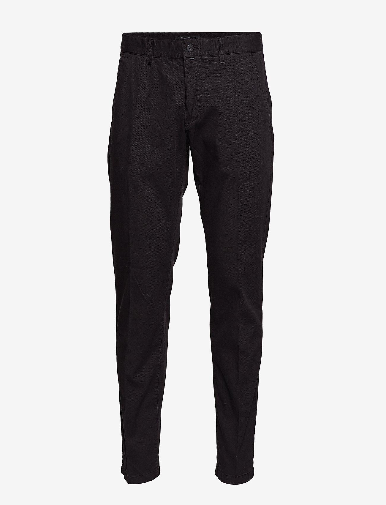 Marc O'Polo - Woven Pants - suitbukser - black - 0