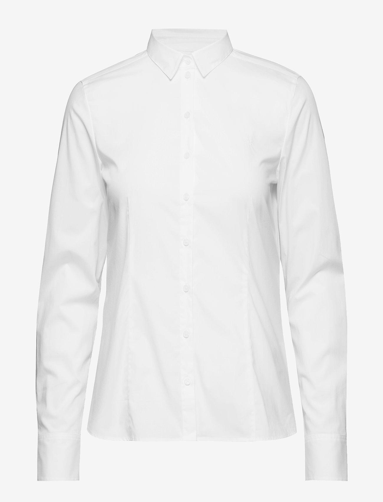Marc O'Polo - SHIRTS/BLOUSES LONG SLEEVE - langærmede skjorter - white - 0