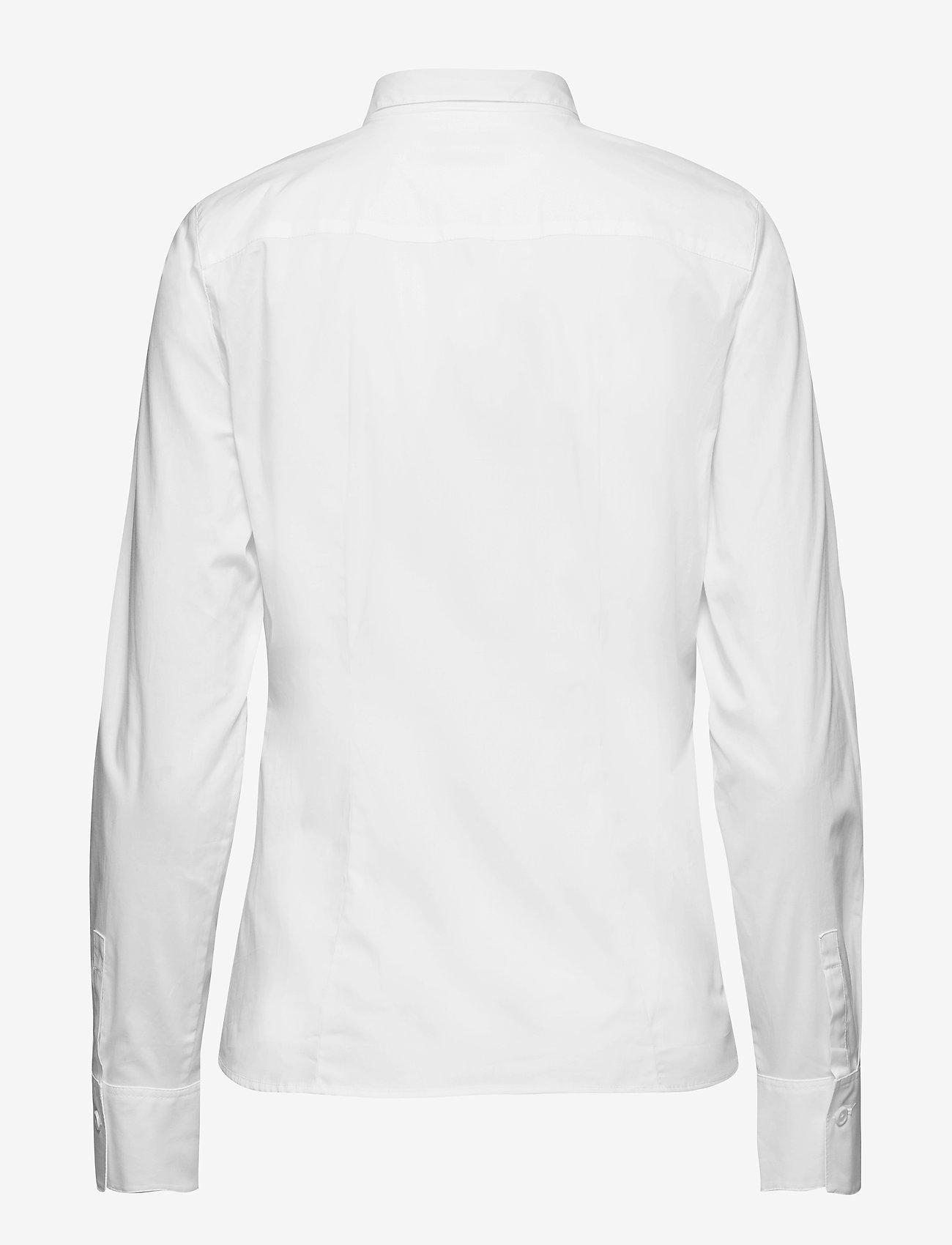 Marc O'Polo - SHIRTS/BLOUSES LONG SLEEVE - langærmede skjorter - white - 1