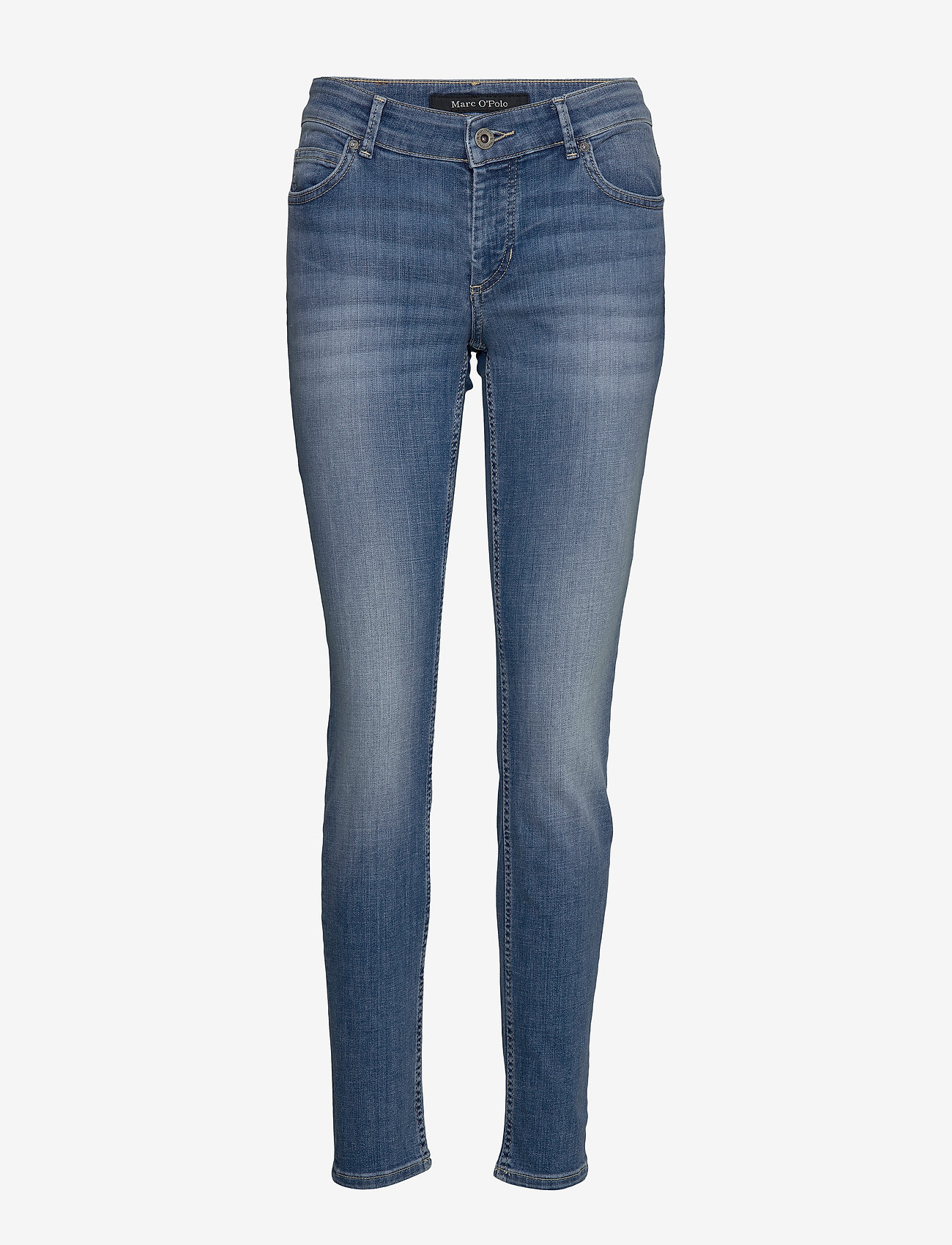 Marc O'Polo - DENIM TROUSERS - slim jeans - play with blue wash - 0