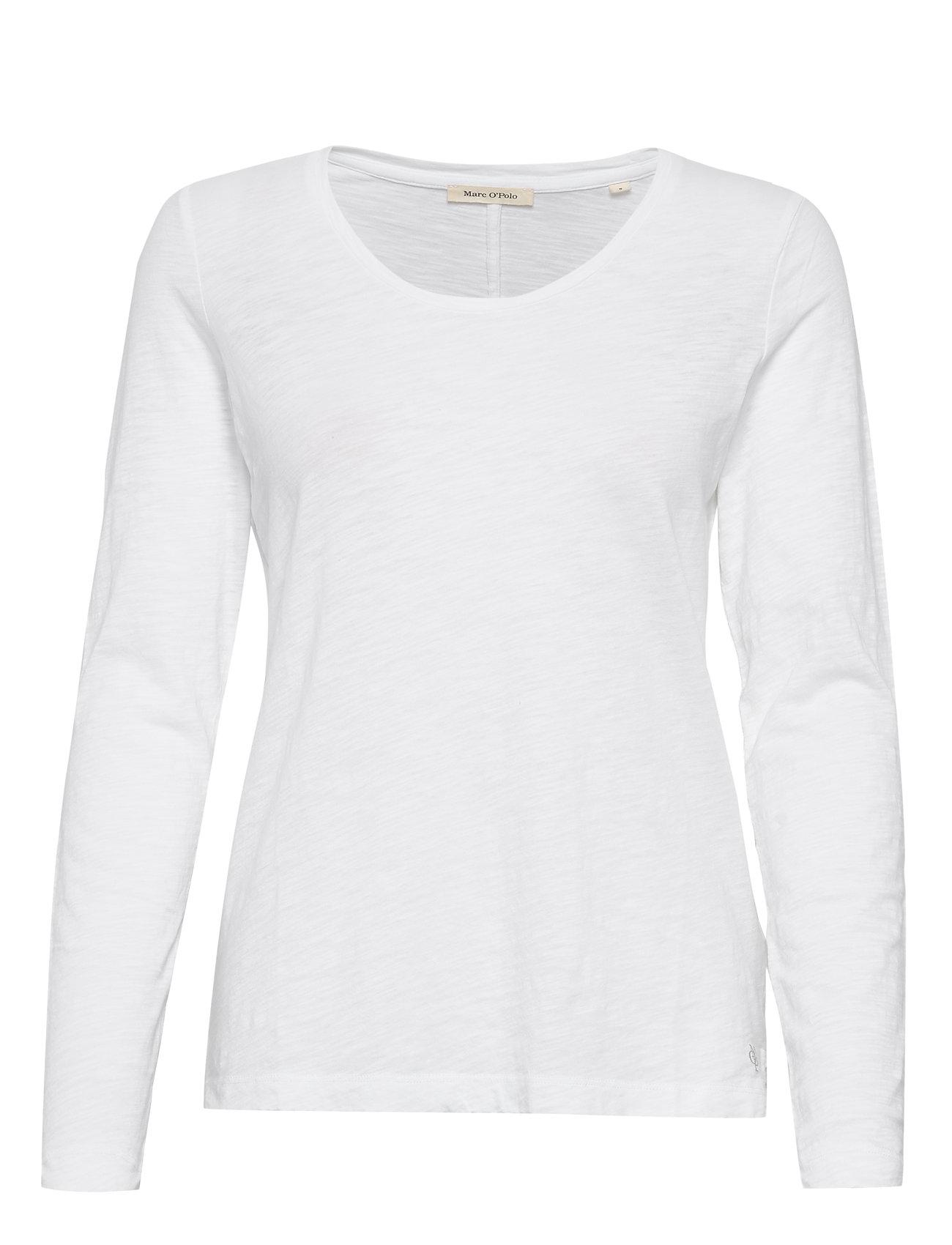 Image of T-Shirt Long Sleeve Langærmet T-shirt Hvid Marc O'Polo (3336494553)
