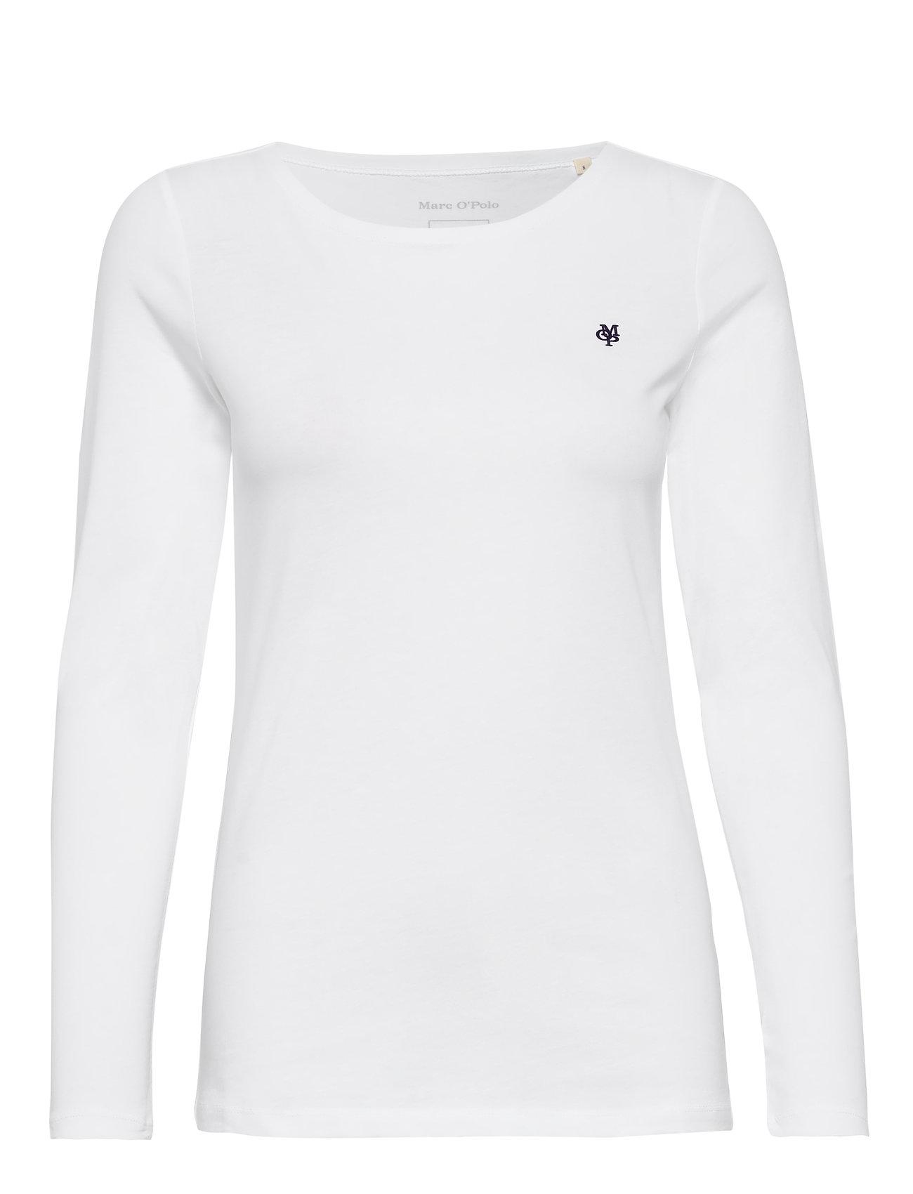 Image of T-Shirt Long Sleeve Langærmet T-shirt Hvid Marc O'Polo (3336494569)
