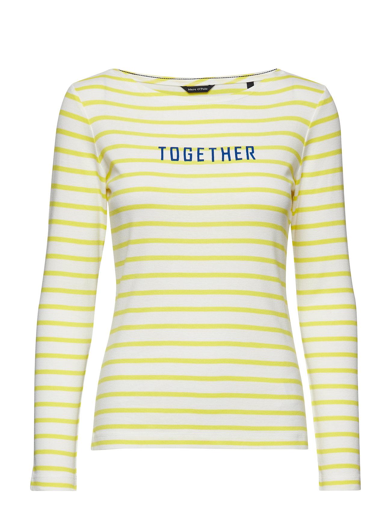 Marc O'Polo T-shirt Long Sleeve - COMBO JERSEY