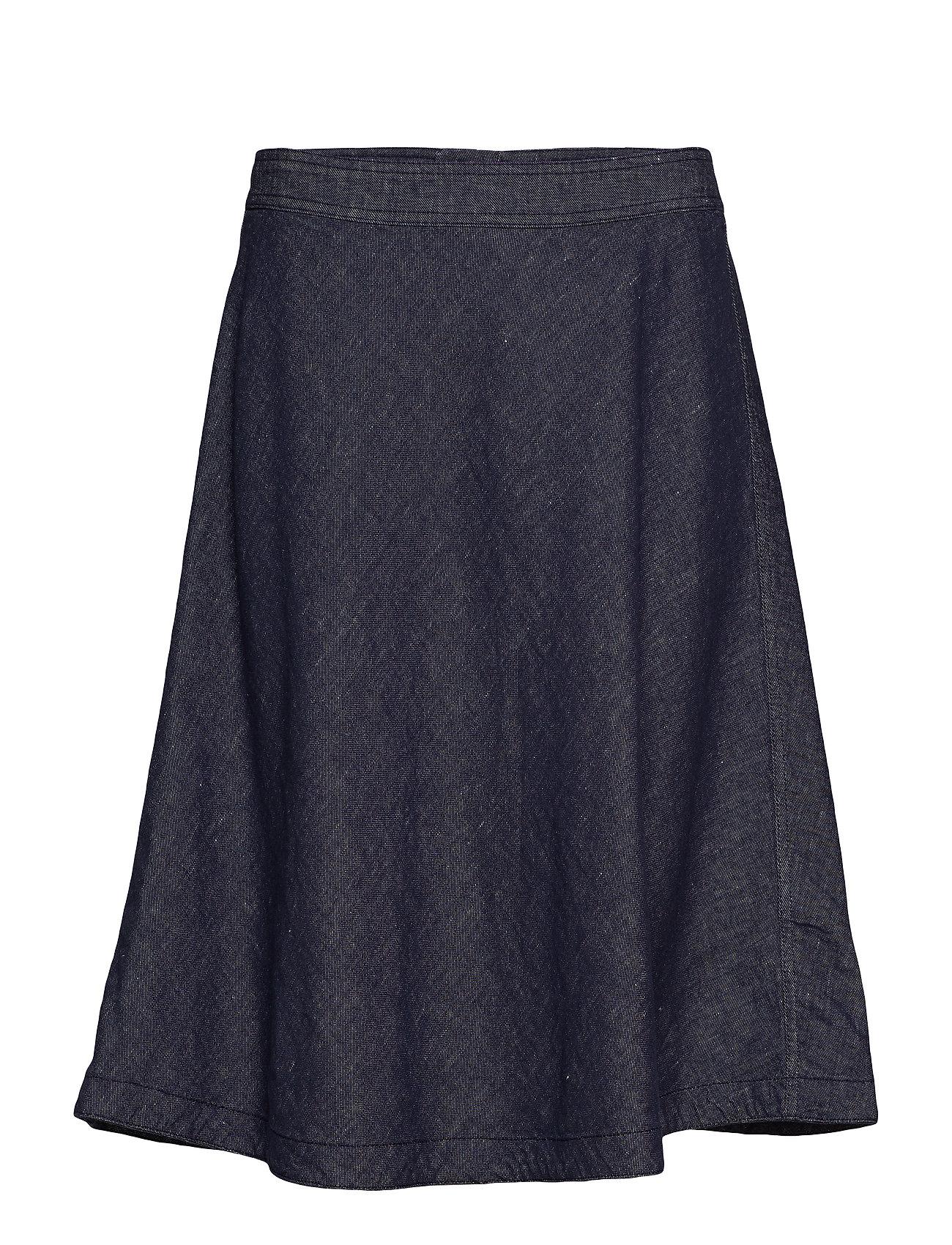Marc O'Polo Circle Skirt - LINEN DENIM