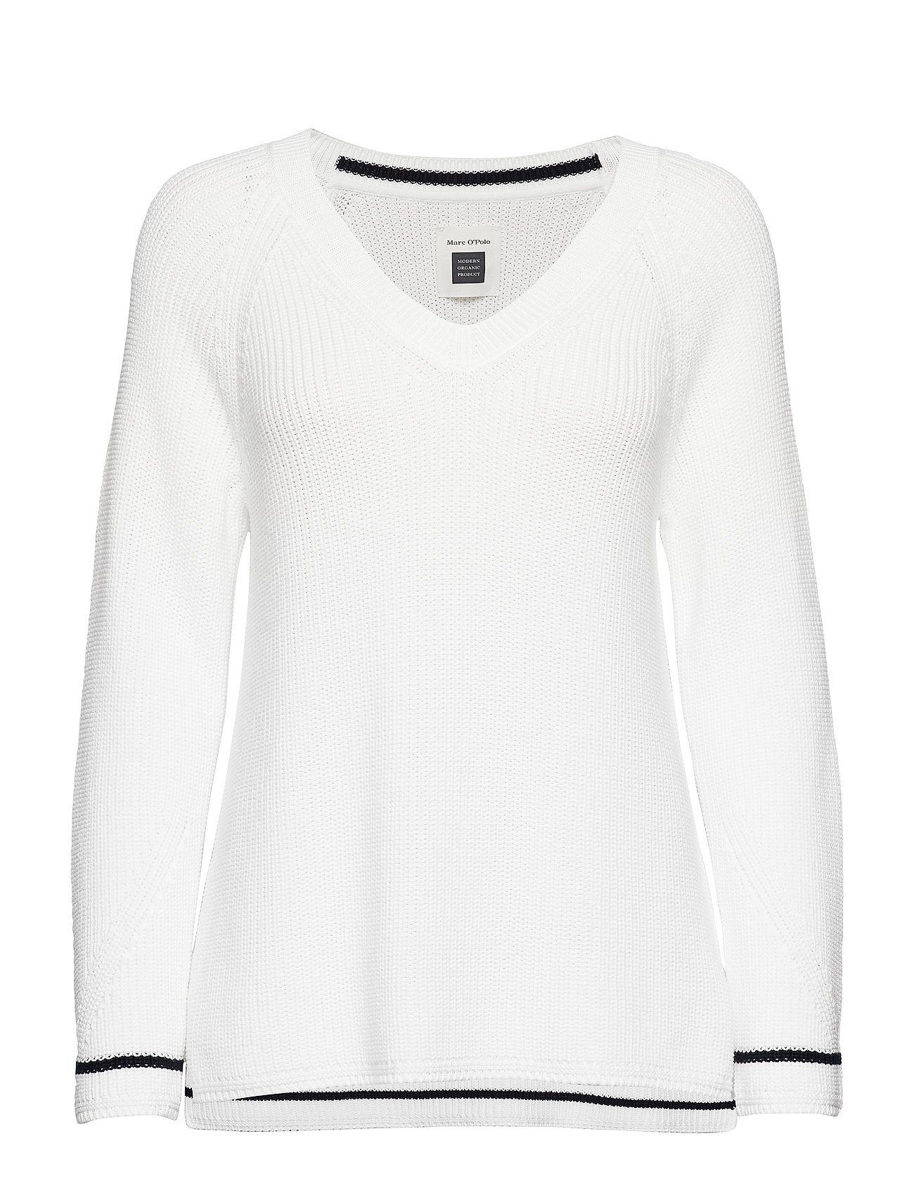 Marc O'Polo PULLOVER LONG SLEEVE - SOFT WHITE