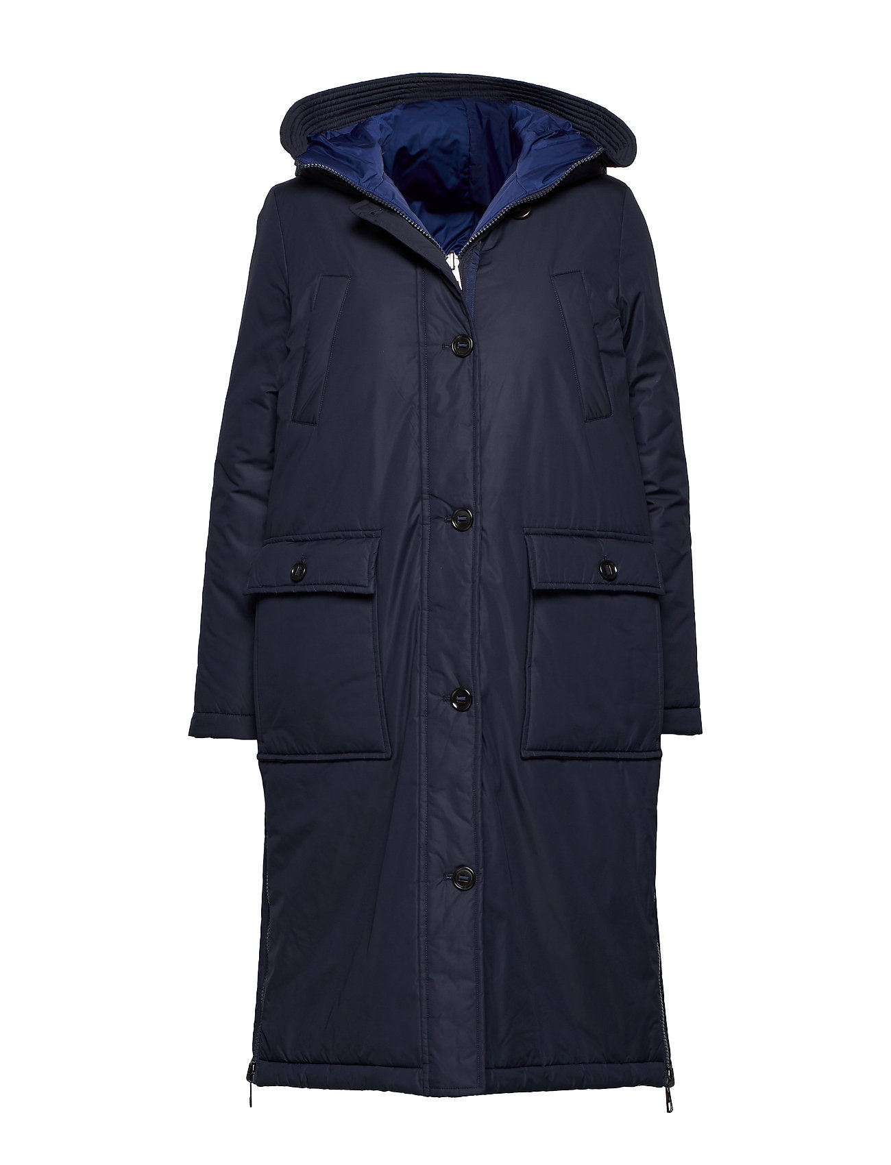 Marc O'Polo Big puffer coat, padded, reversible - MIDNIGHT BLUE